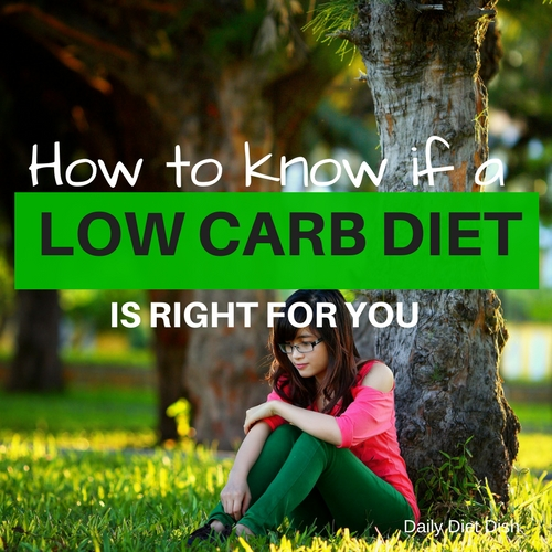 start a low carb diet