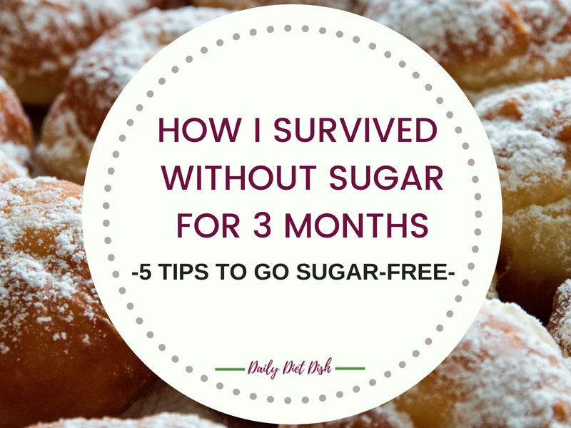 how to go sugar free