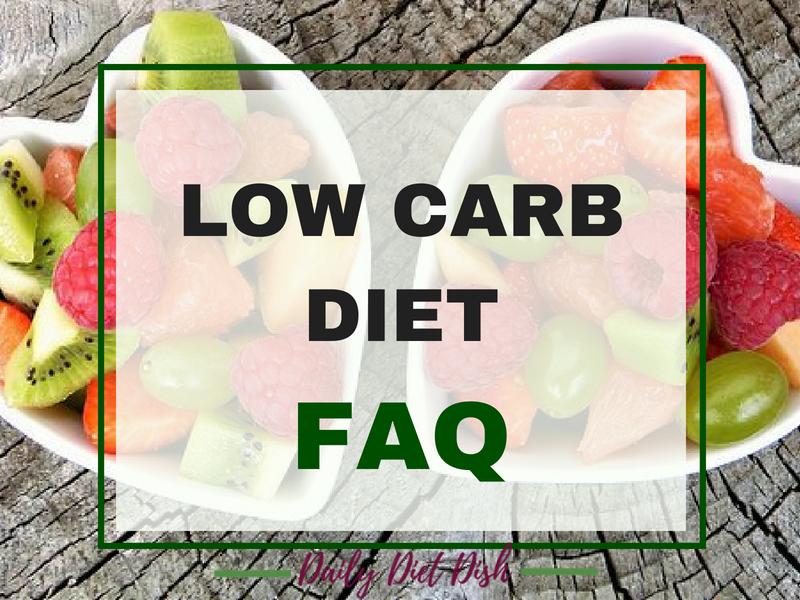 low carb diet faq