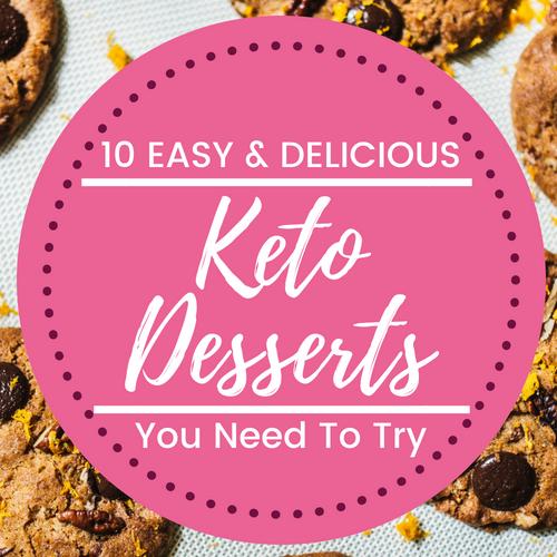 easy keto desserts sugar free, stevia, low carb, chocolate