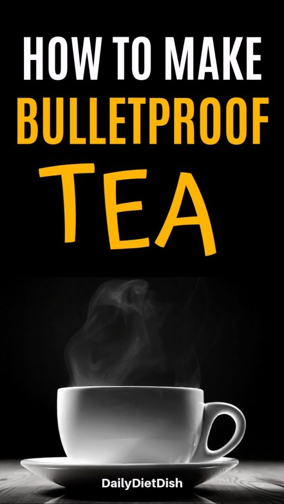 how to make bulletproof tea