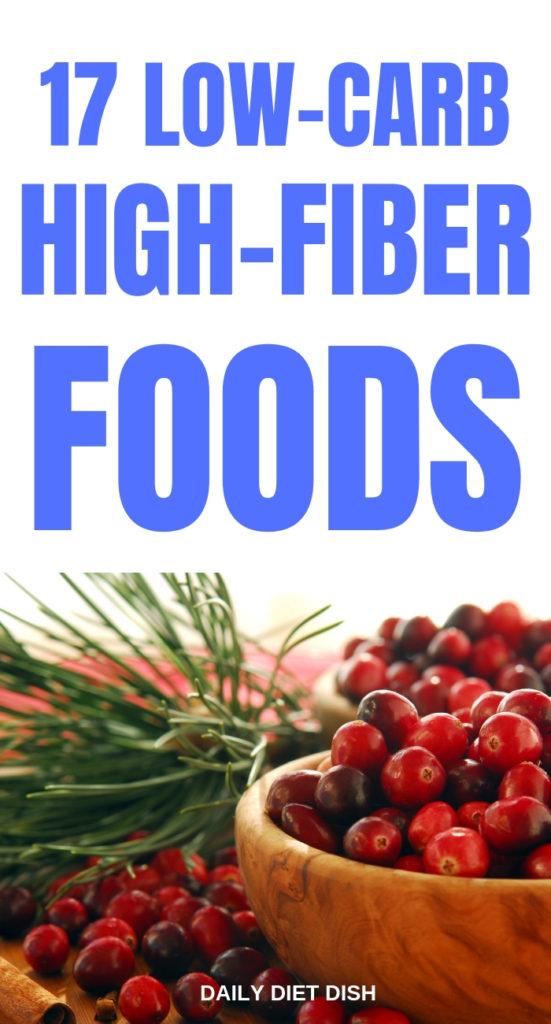 high fiber low carb foods for keto