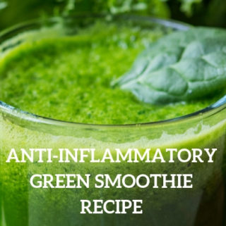 Anti inflammatory green smoothie recipe