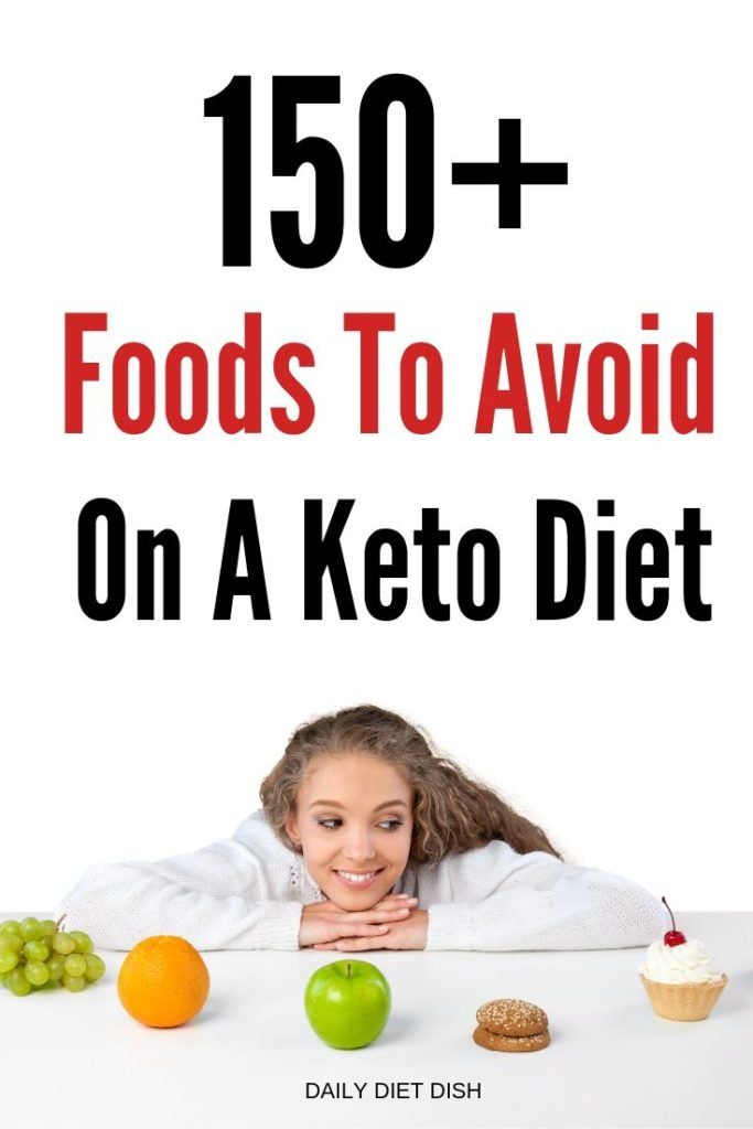 commin foods to avoid on a keto diet