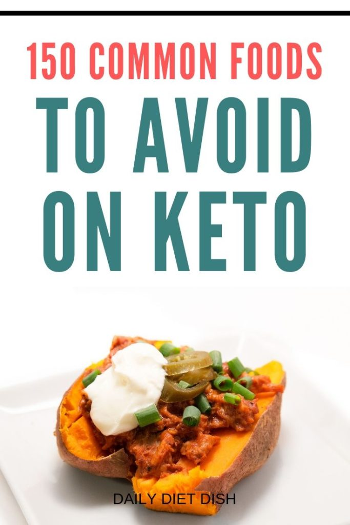 foods to avoid on the keto diet