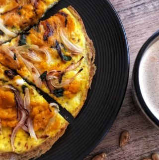 pumpkin onion frittata