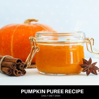 homemade pumpkin puree recipe